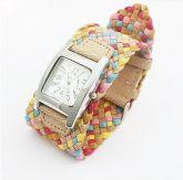 Relogio pulseira multicolor
