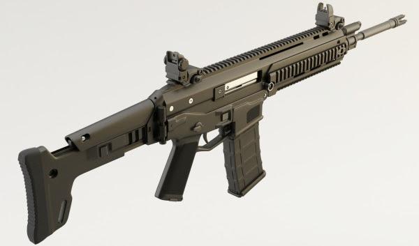 US Bushmaster Advanced Combat Rifle