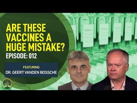 """El experto en vacunas Vanden Bossche pide un """"cese inmediato"""" de las vacunas y dice que fomentan las variantes de """"escape mutante"""""""