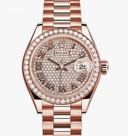 Rolex Lady Date Just Rose Gold