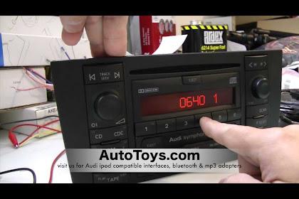 2004 Audi A4 Radio Code
