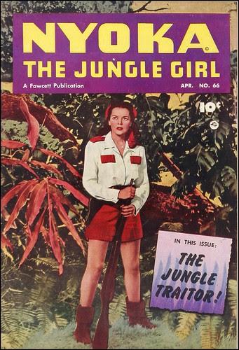 Nyoka the Jungle Girl #66