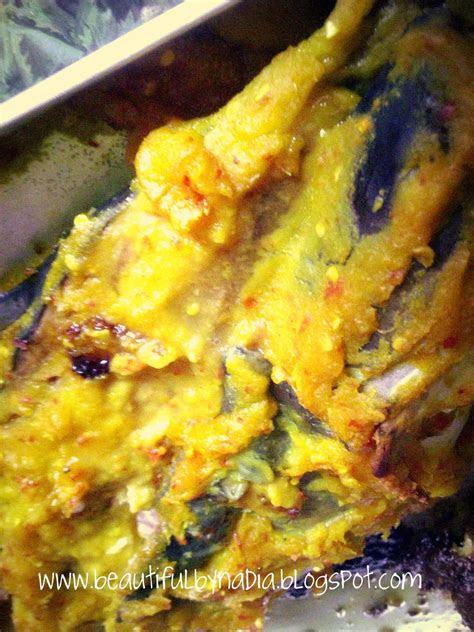 beautifulbynadiablogspotcom ikan patin bakar tempoyak