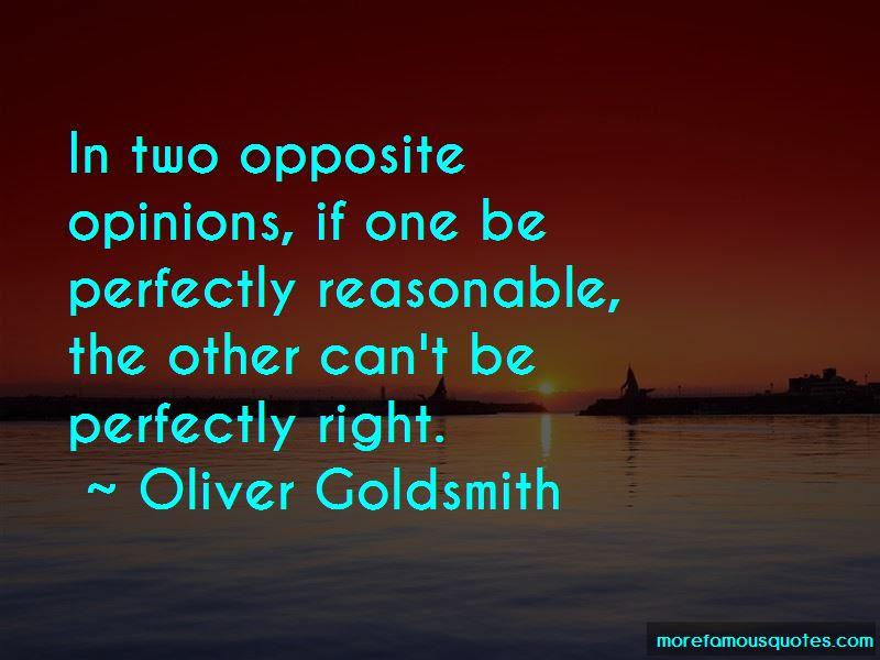 Quotes About Opposite Opinions Top 14 Opposite Opinions Quotes From