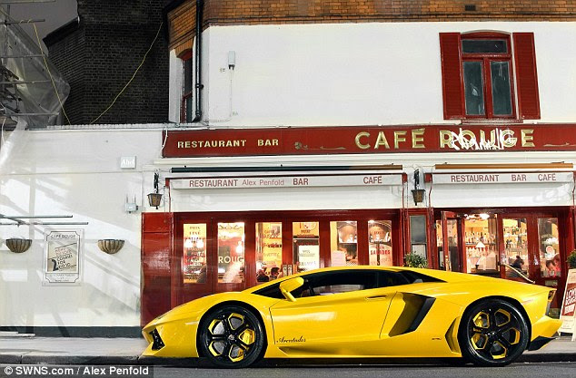 if you live in the right part of town, the sight of a Lamborghini Aventador is not that uncommon
