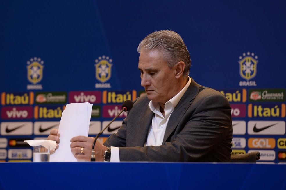 Tite convoca seleção brasileira para amistosos na Austrália (Foto: Pedro Martins / MoWA Press)