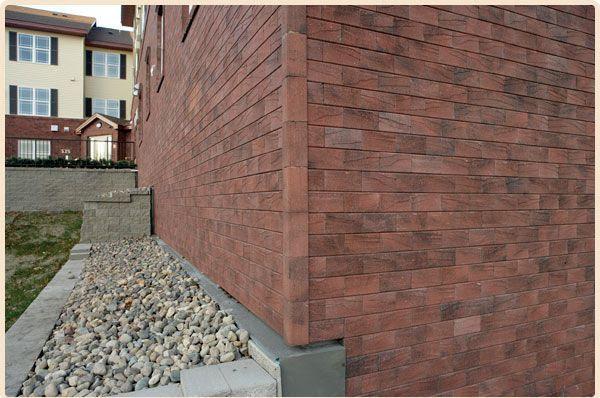 Dormitorio muebles modernos revestimiento paredes exterior - Recubrimientos para fachadas ...