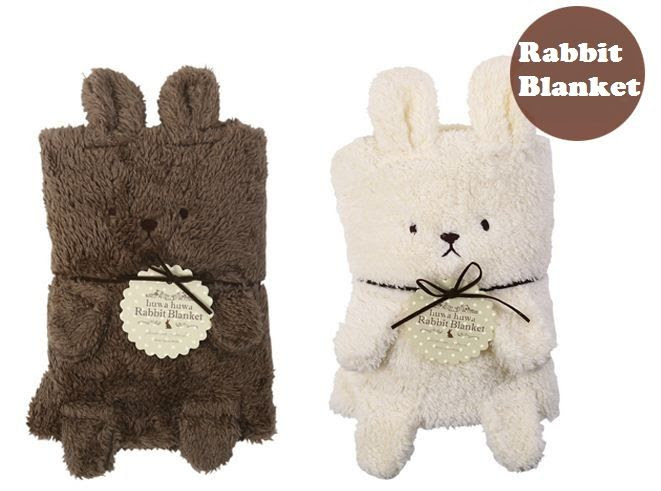 Cute Bunny Rabbit Baby Blanket Wrap Swaddle Cotton Soft Summer