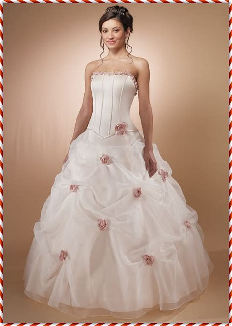 Big Pink Wedding Dress Designs For Girls   Wedding Dress