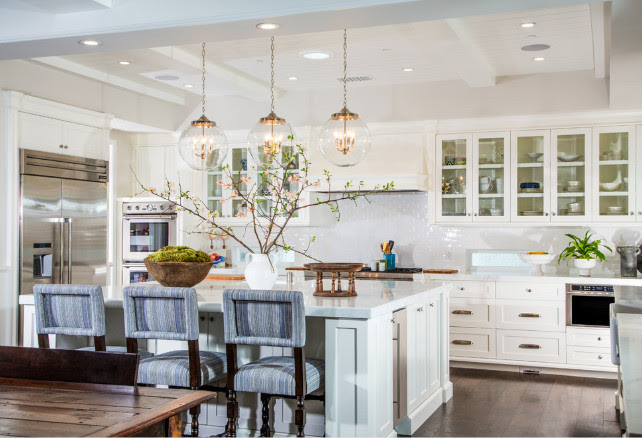 Kitchen color scheme. Kitchen color scheme ideas. White kitchen color scheme. #ColorScheme #Kitchen Legacy Custom Homes, Inc.