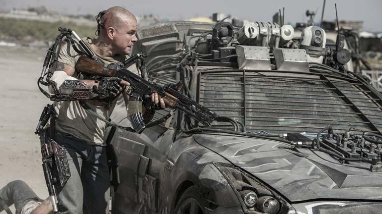 """'Elysium', la """"paradoja"""" de la Tierra actual, con Matt Damon, Jodie Foster y Sharlto Copley bajo la dirección de Neil Blomkamp"""