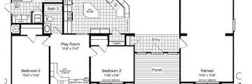 Triple Wide Mobile Homes Floor Plans