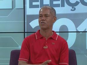 Jair Pedro, PSTU (Foto: Reprodução/TV Globo)
