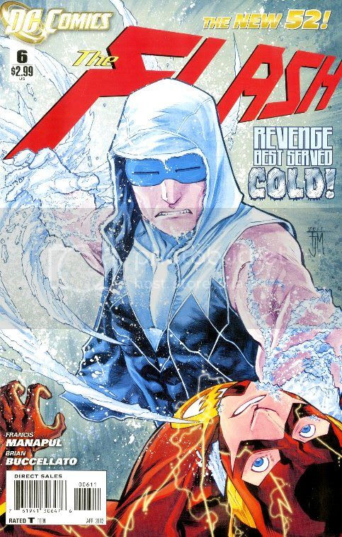 cover by Francis Manapul and Brian Buccellato