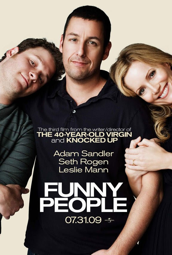 Funny People poster [click to enlarge]