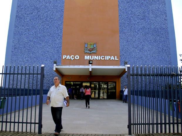 Paço Municipal de São José dos Campos (Foto: Carlos Santos/G1)