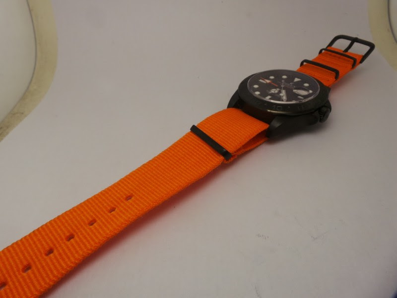 Explorer Orange Nylon Strap