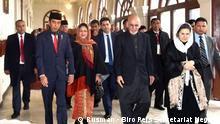 Indonesiens Präsident Joko Widodo bei afghanischem Präsidenten Ashraf Ghani