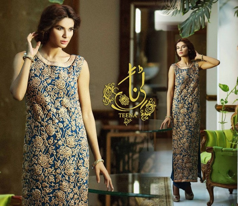 Womens-Girl-New-Fashion-Summer-Spring-Casual-Formal-Party-Wear-Suits-Teena-by-Hina-Butt-2