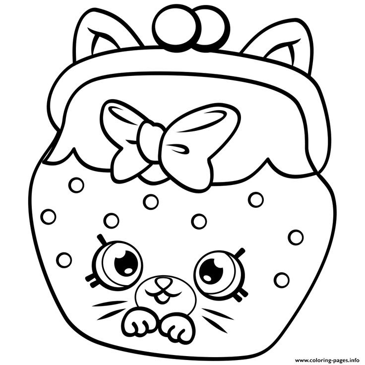 Shopkins Toast Coloring Pages - Coloring And Drawing