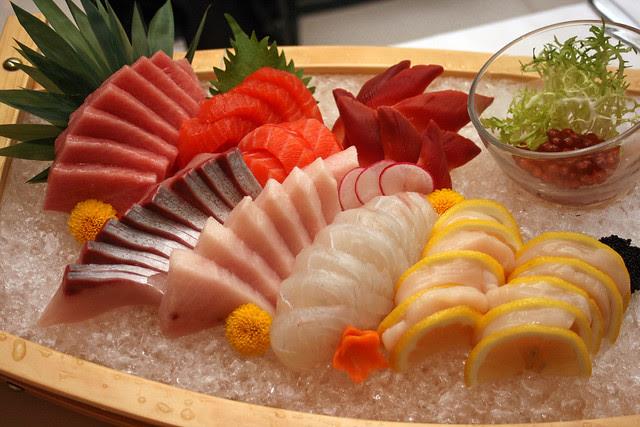 Sashimi: Omakase Taster