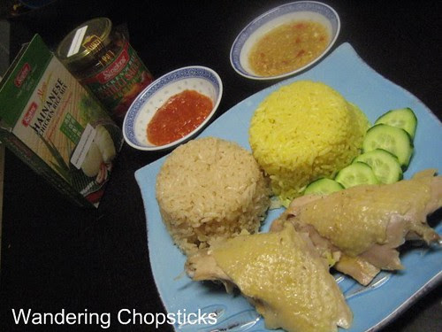 Singlong Hainanese Chicken Rice Mix and Singlong Chicken 'n' Rice Chilli Sauce