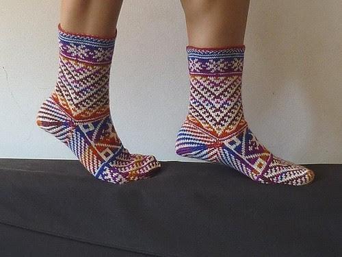 kilim socks