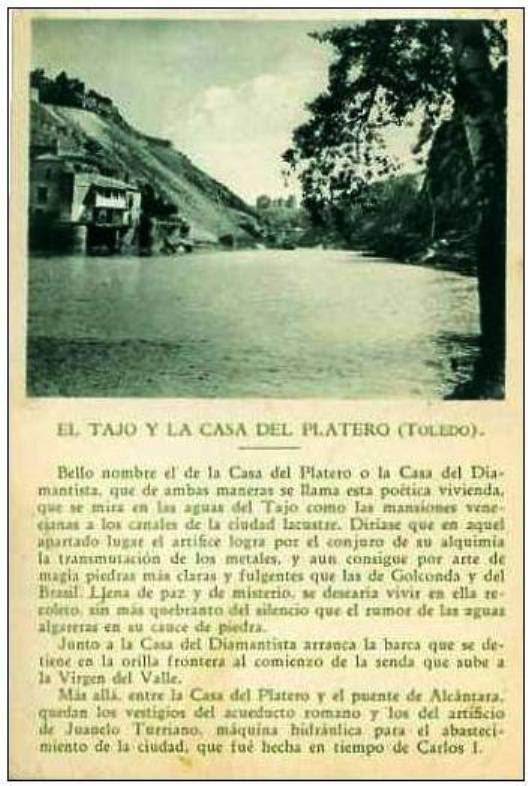 Artículo sobre la Casa del diamantista a principios del siglo XX