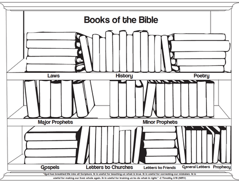 books of the bible coloring pages  children's ministry deals