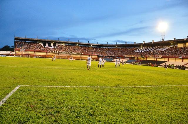 Colosso do Tapajós no domingo (3/04/2011).Foto: Ronaldo Ferreira