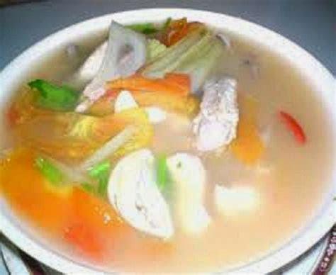 tomyam putih ayam ohsem  resepi sheila rusly