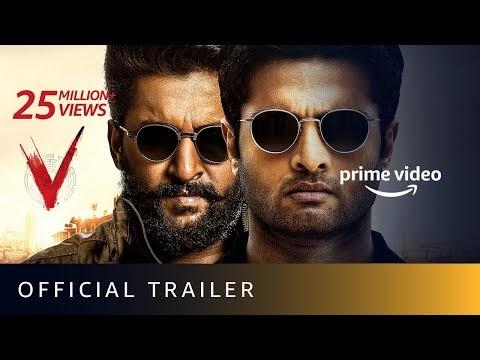 V - Official Trailer | Nani, Sudheer Babu, Aditi Rao Hydari, Nivetha Tho...
