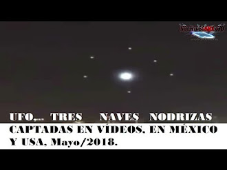 Naves Nodrizas Captadas en México / UFO Motherships Over Mexico