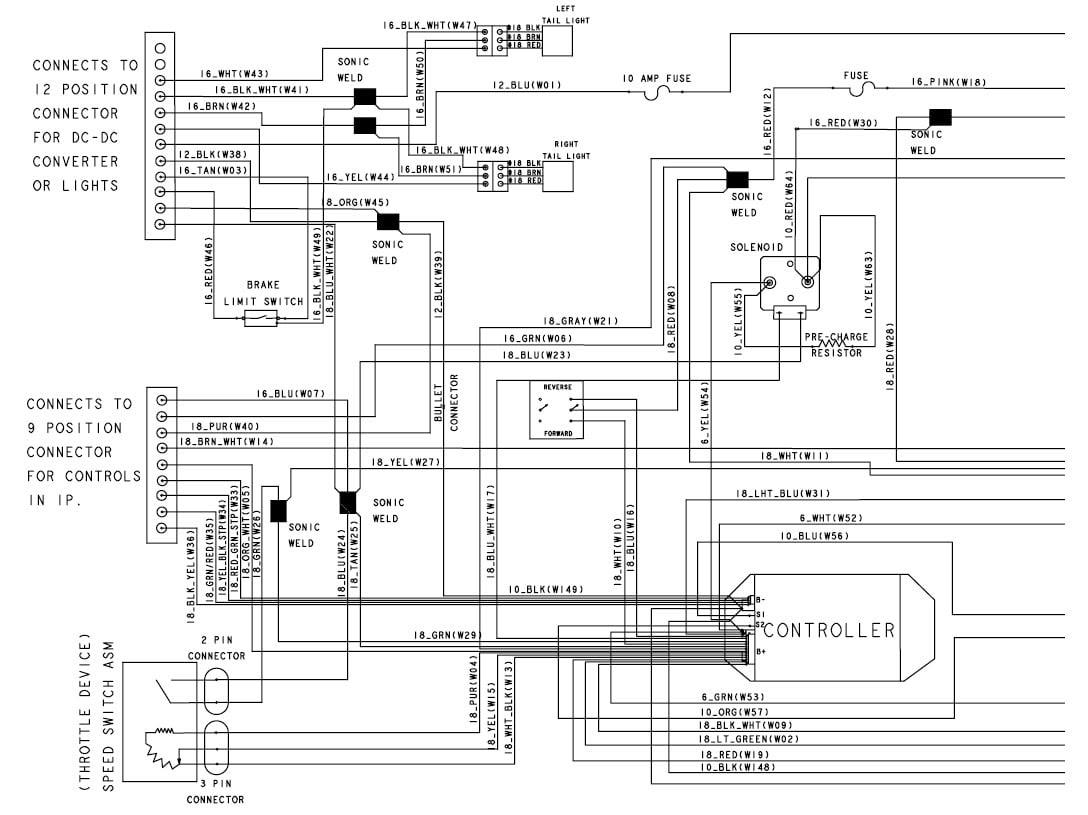2004 Club Car Wiring Diagram 48 Volt