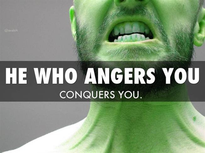 Quotes To Manage Your Anger Authorstream
