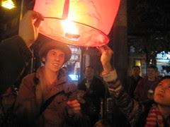 Lantern Festival, near Wenshu temple, Chengdu