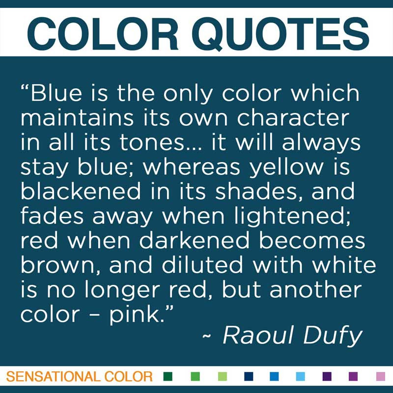 Quotes About Color Blue 63 Quotes