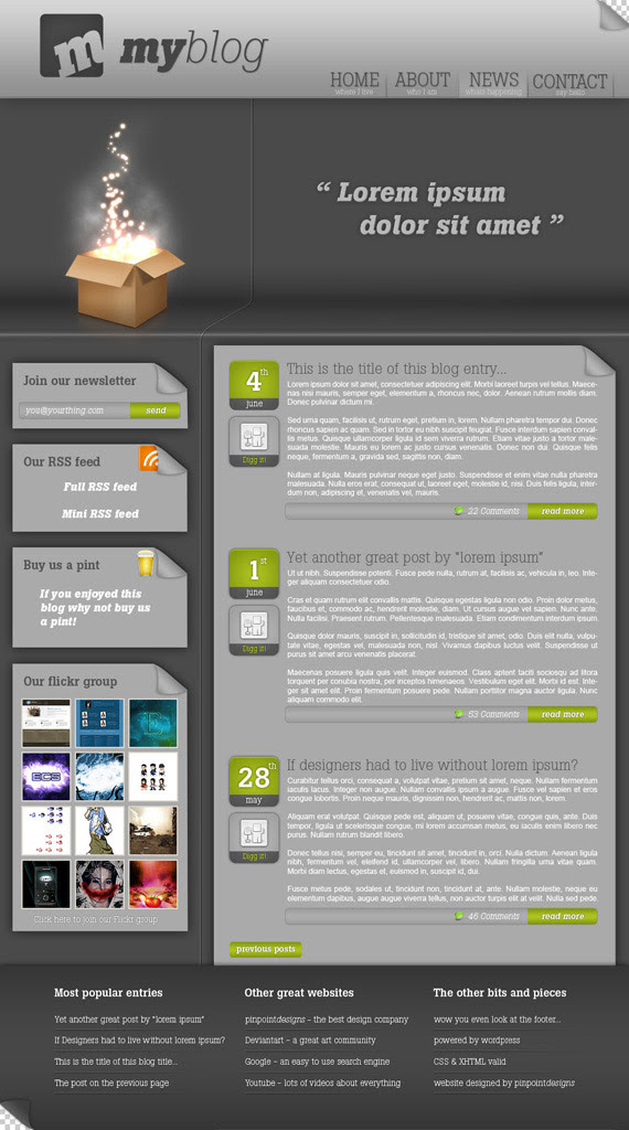 Pinpoint-theme-inspiration-wordpress-blog-designs