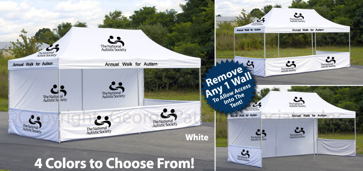 Pop Up Canopy Tent | Water Resistant Banners With Custom Printing