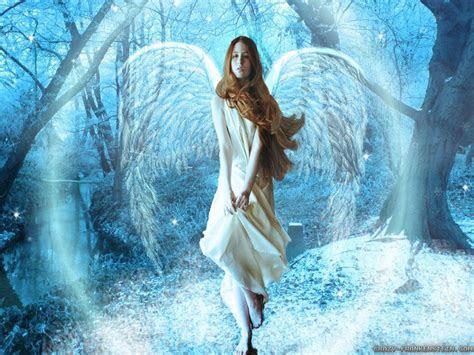 beautiful christmas angels desktop wallpaper wallpapersafari