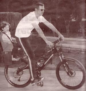 Bashar Assad with son Hafez