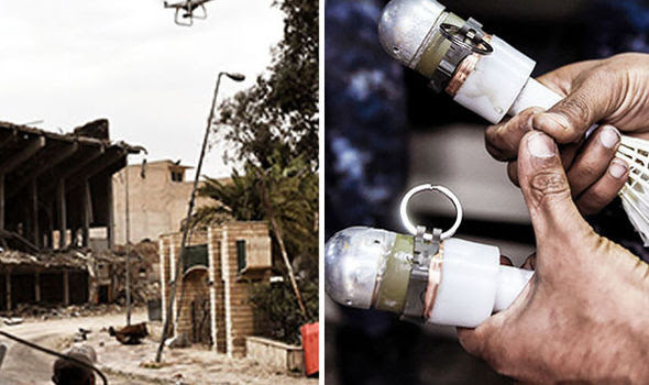 ISIS have their hands on drone bombs