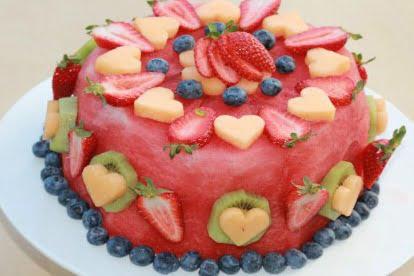 Resultado de imagen de Pastel de fruta