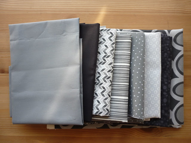 Fabrics for Teenage boy quilt donated by Patch Fabrics