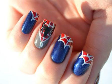 15 + Spiderman Nail Art Designs, Ideas, Trends, Stickers ...