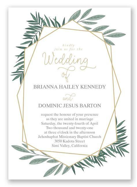 266 best Wedding Invitations images on Pinterest   Bridal