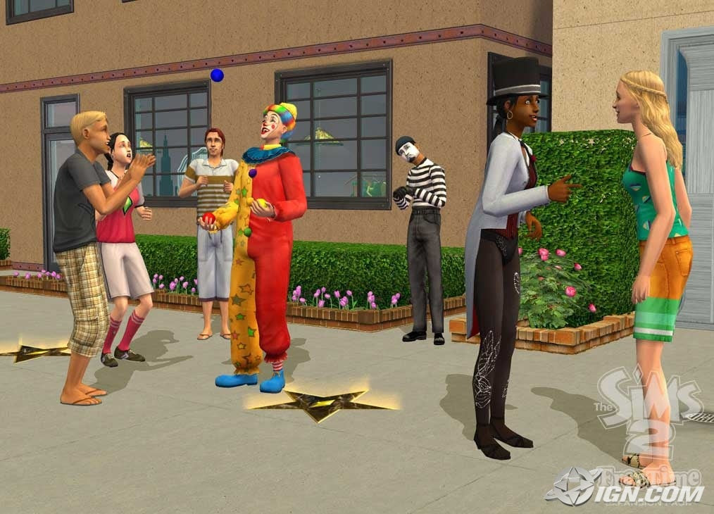 The Sims 2 FreeTime Picture