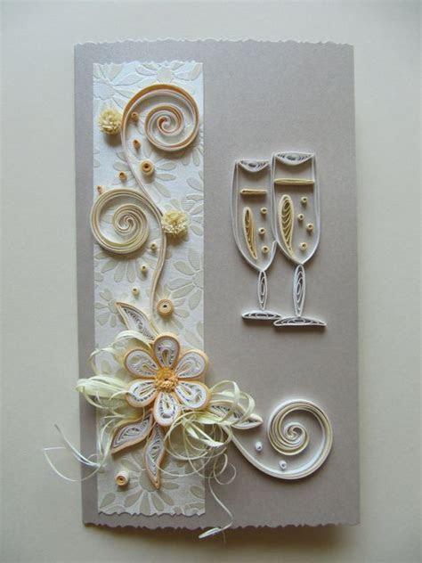 Handmade Quilling Greeting Card / Wedding,Anniversary