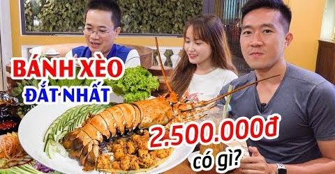 Bánh Xèo Miền Trung 2.500.000đ có gì và Cái Kết ▶ Món ngon Đà Nẵng