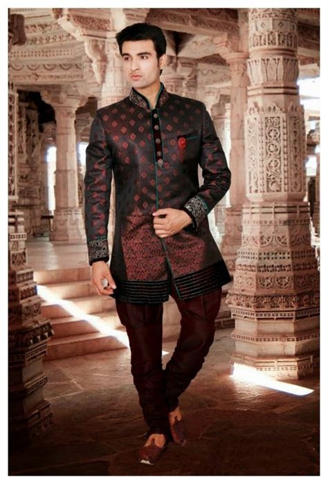 Bridegroom Indian Pakistani Wedding Party Wear Sherwani